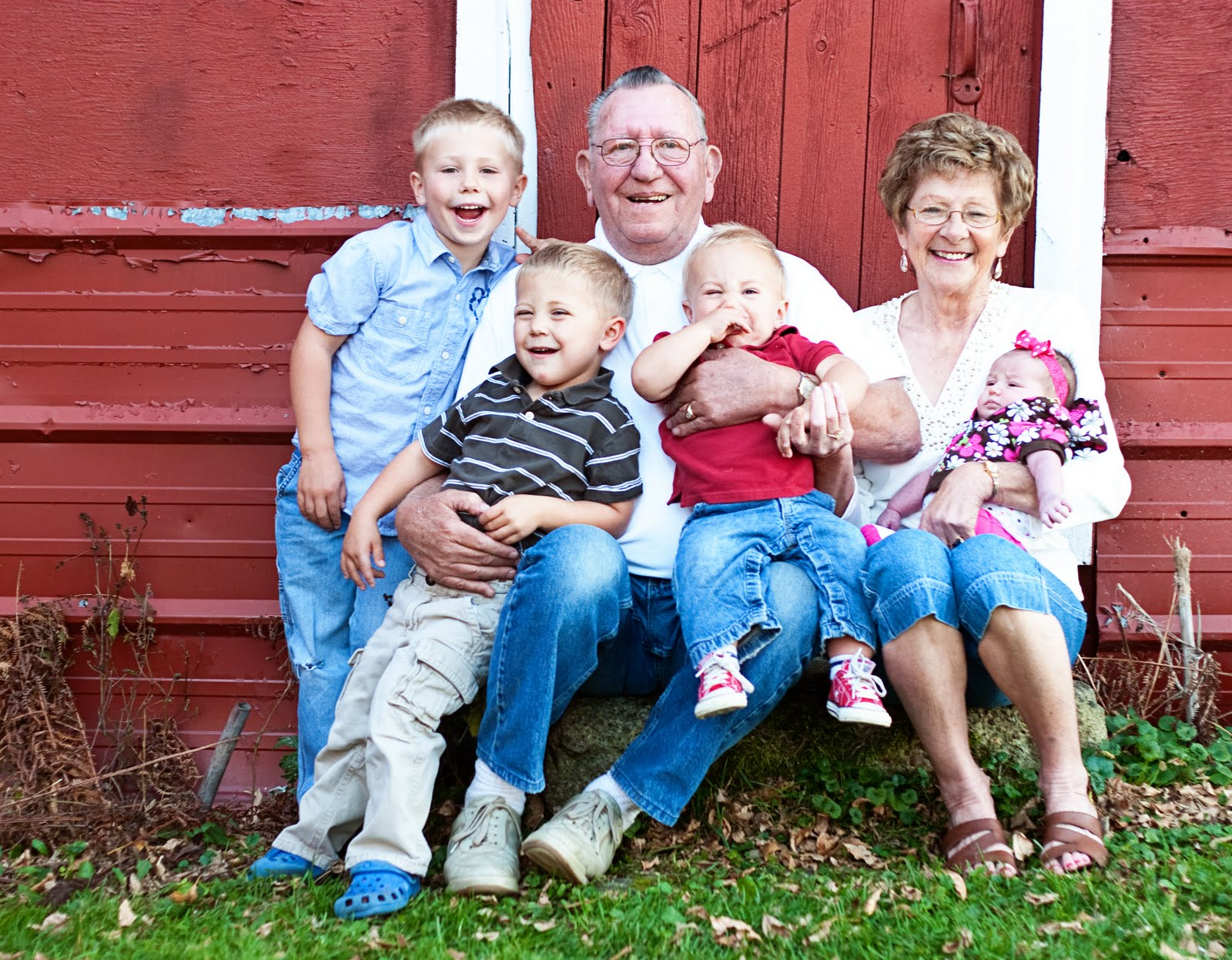 bangtson family grandparents photo shoot