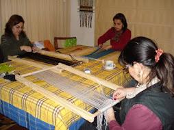 taller telar decorativo