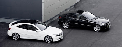 Mercedes Benz Clc 2009. Mercedes-Benz has unveiled a stand-alone model series in the guise of the new Mercedes CLC,