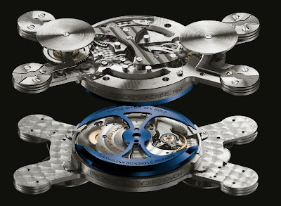 Mouvement Automatique Horological Machine MB&F