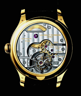 Calibre Laurent Ferrier Tourbillon Double Spiral Référence FBN916.01