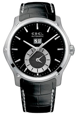 Montre Ebel Classic Hexagon GMT acier