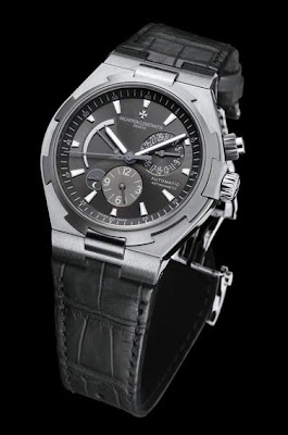 Montre Vacheron Constantin Overseas Dual Time Acier et Titane