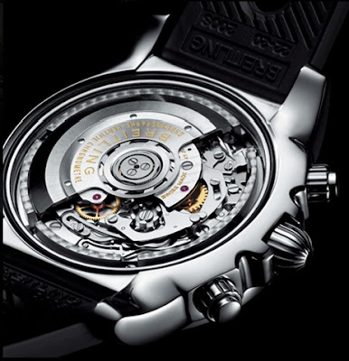 Mouvement Montre Breitling Chronomat Calibre B01