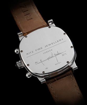 Dos Montre Ritz Fine Jewellery 1905 Chronograph par Gérald Genta