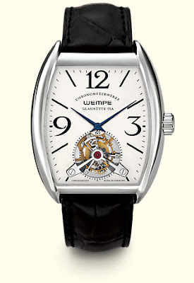 Montre Wempe Tourbillon chronometerwerke Glashütte WG740001