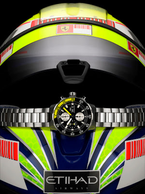 Casque Felipe Massa Montre IWC Aquatimer