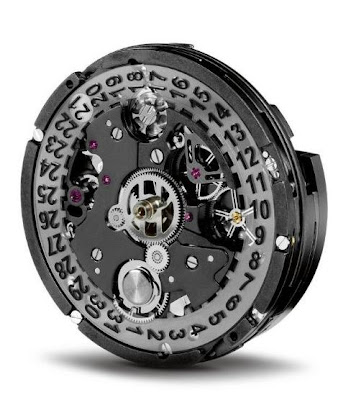 Face roue  colonnes calibre Hublot HUB 1240 UNICO