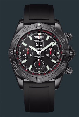 Montre Breitling Blackbird Blacksteel Chronographe