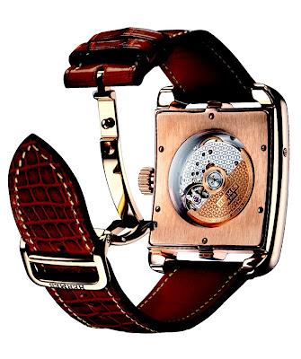 Calibre H 1929 Vaucher Manufacture Fleurier Montre Hermès Cape Cod phases de lune