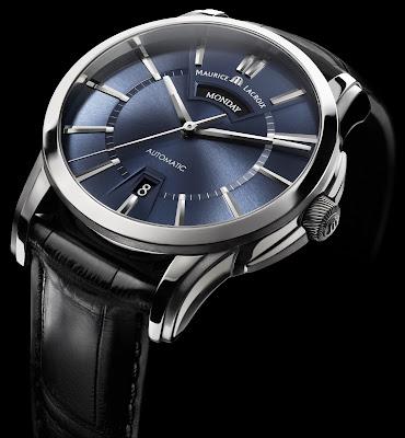 Montre Maurice Lacroix Pontos Jours Date bleu