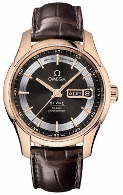 Montre Omega De Ville Hour Vision Annual Calendar référence 431.63.41.22.13.001