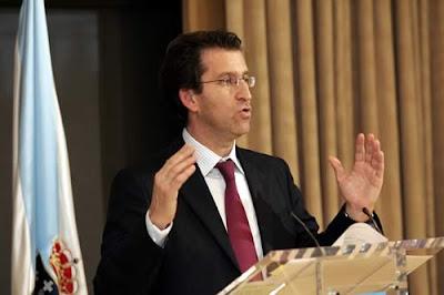 Alberto Núñez Feijóo, nuevo presidente de Galicia