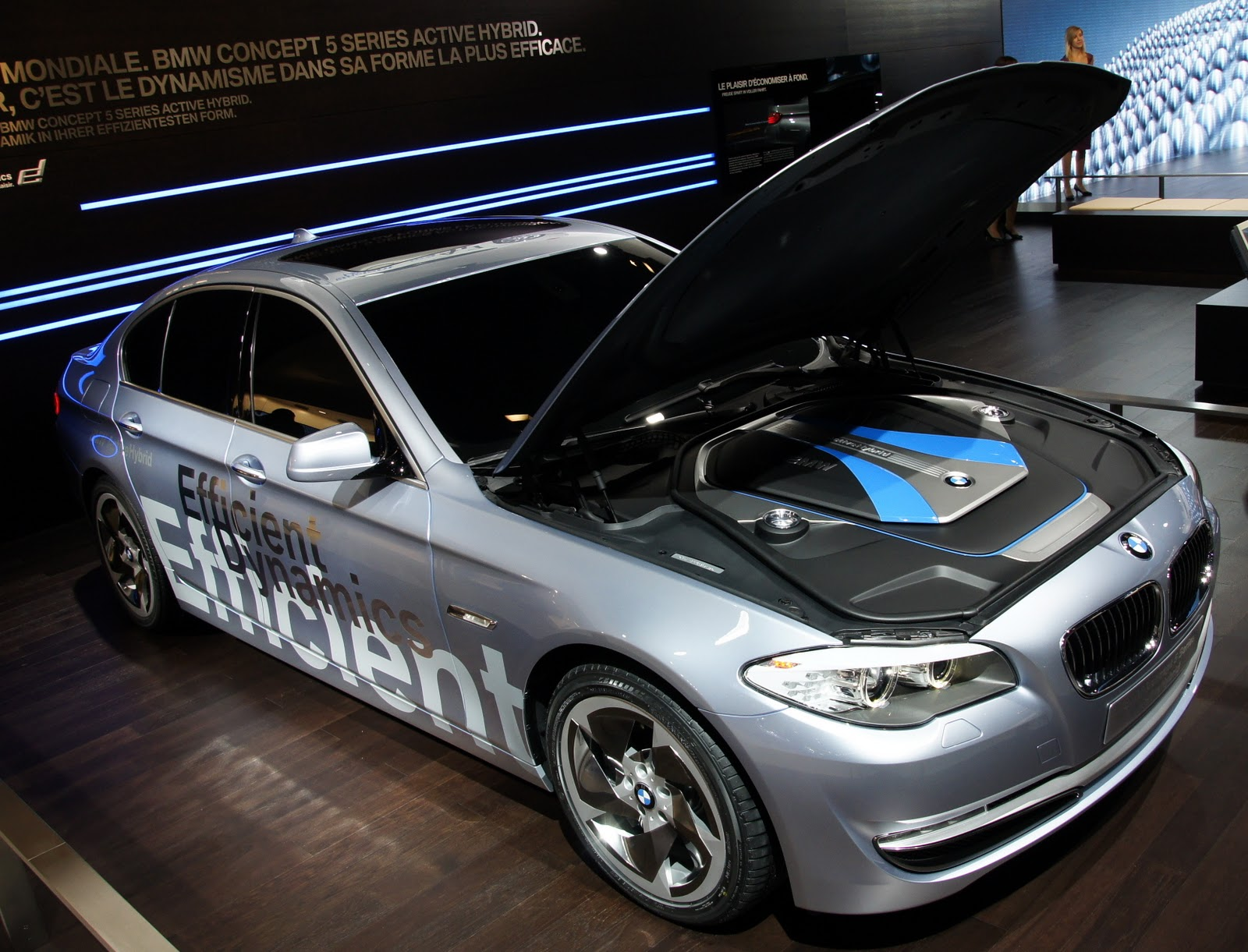 2010 BMW 5 Series ActiveHybrid Concept - Car Pictures
