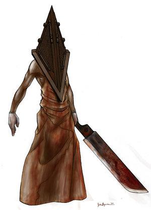 Os personagens mais assustadores dos games 20077151936_Pyramid_Head_by_jaybob