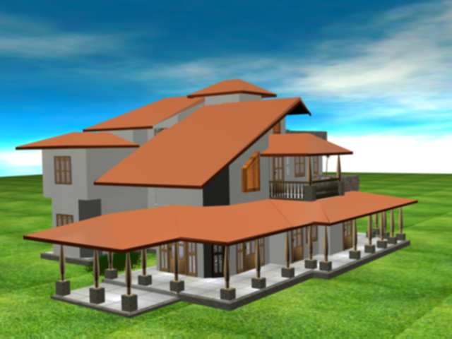 Home plan for Sri lankan homes plans