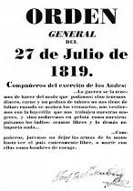 A sus ordenes Libertador General San Martín