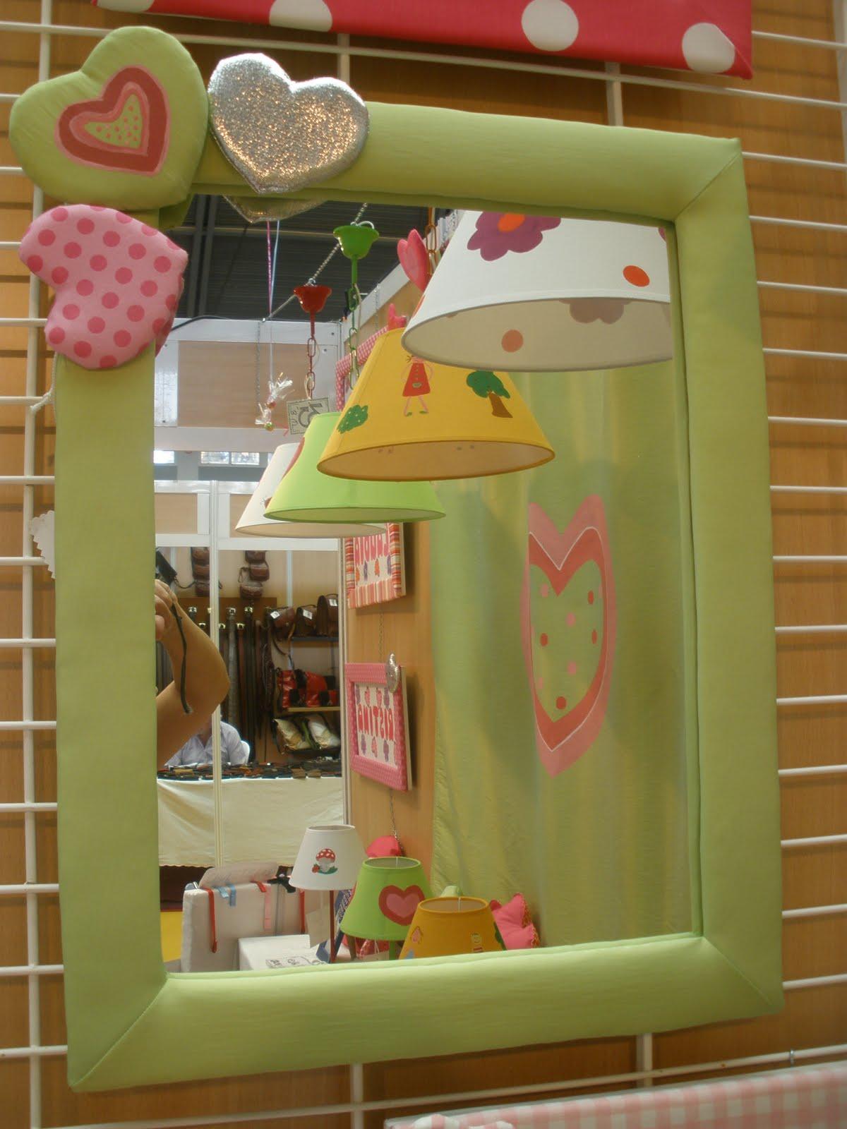 Decoraci n infantil pekerines espejos habitaci n infantil - Habitacion infantil juvenil ...