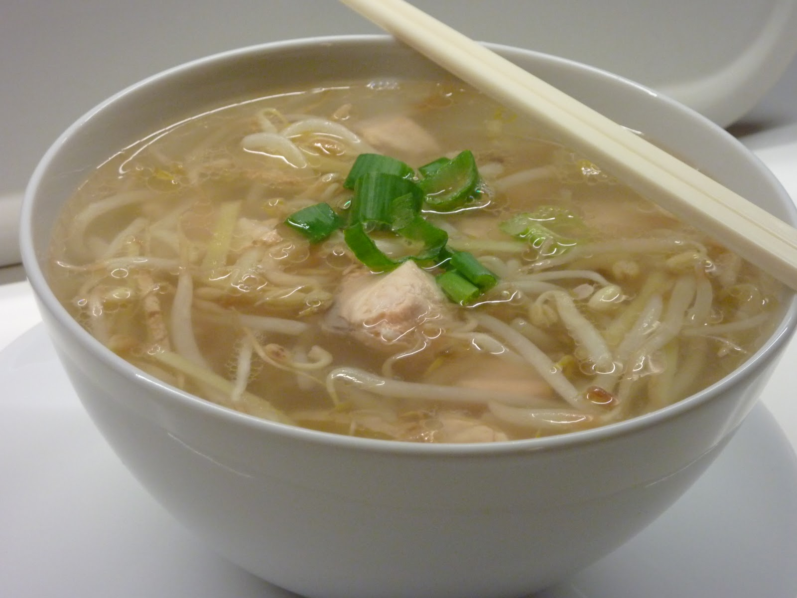 Quick easy chinese fish soup with ginger hurtig og nem for How to make fish soup