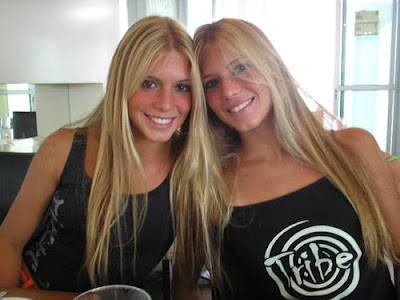 Amusing moment Bia and branca feres twins