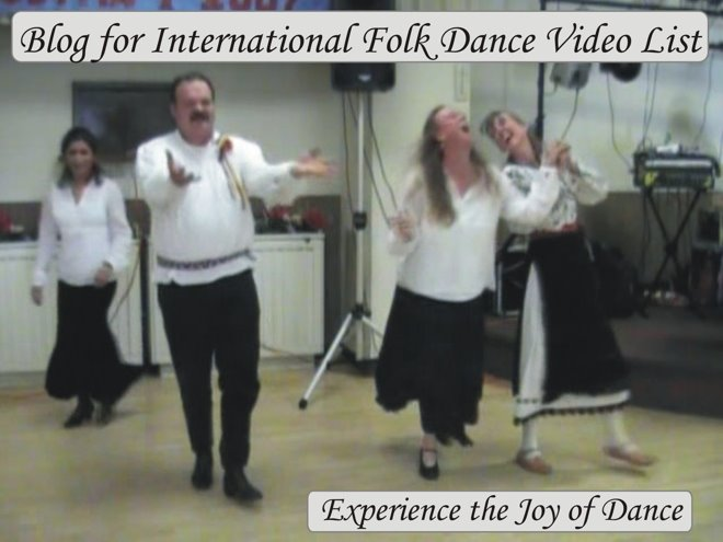 Blog for International Folk Dance Video List