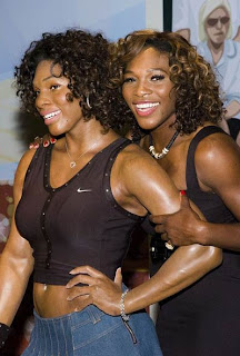 SW Serena Williams... WAXED!