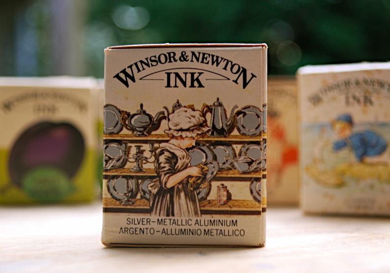 Cara Ansley Winsor Newton Calligraphy