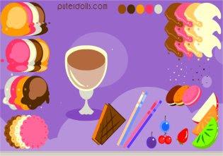 en este juego de hacer helados te podras crear o hacer tu propio