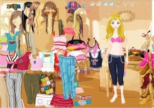 juegos de viste a barbie: