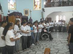 Envio das catequistas dia 21/02/2010