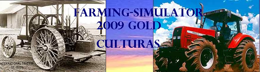 Farming-Simulator 2009 Gold culturas
