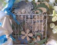 Garden Theme Altered Book