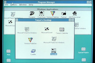 Windows 3.0 screenshot (Microsoft)