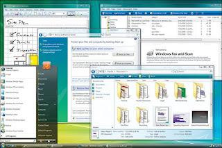 Windows Vista screenshot (Microsoft)