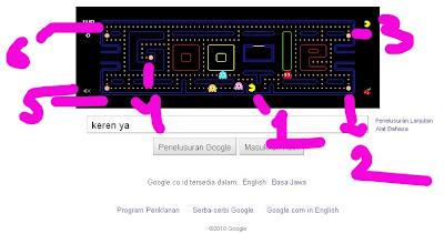 Doodles Google Dalam Rangka PAC-MAN 30th Anniversary