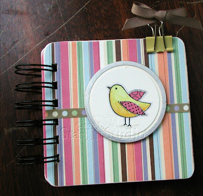 دفتر كشكول Hero%20Arts%20bird%20coaster%20notebook