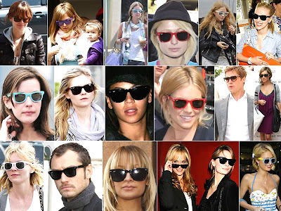 ray ban wayfarer pattinson. are loving wayfarers too!