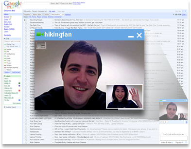 Setting up Gmail Video Chat in Debian Linux is pretty simple.