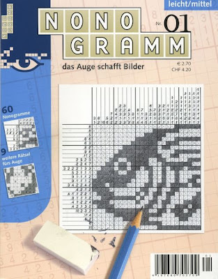 Nonogramm Picture Logic magazine launched in Germany, Switzerland and Austria by Rätsel Agentur Schweiz
