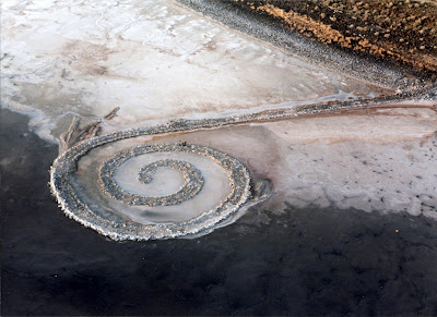 Robert Smithson: Spiral Jetty