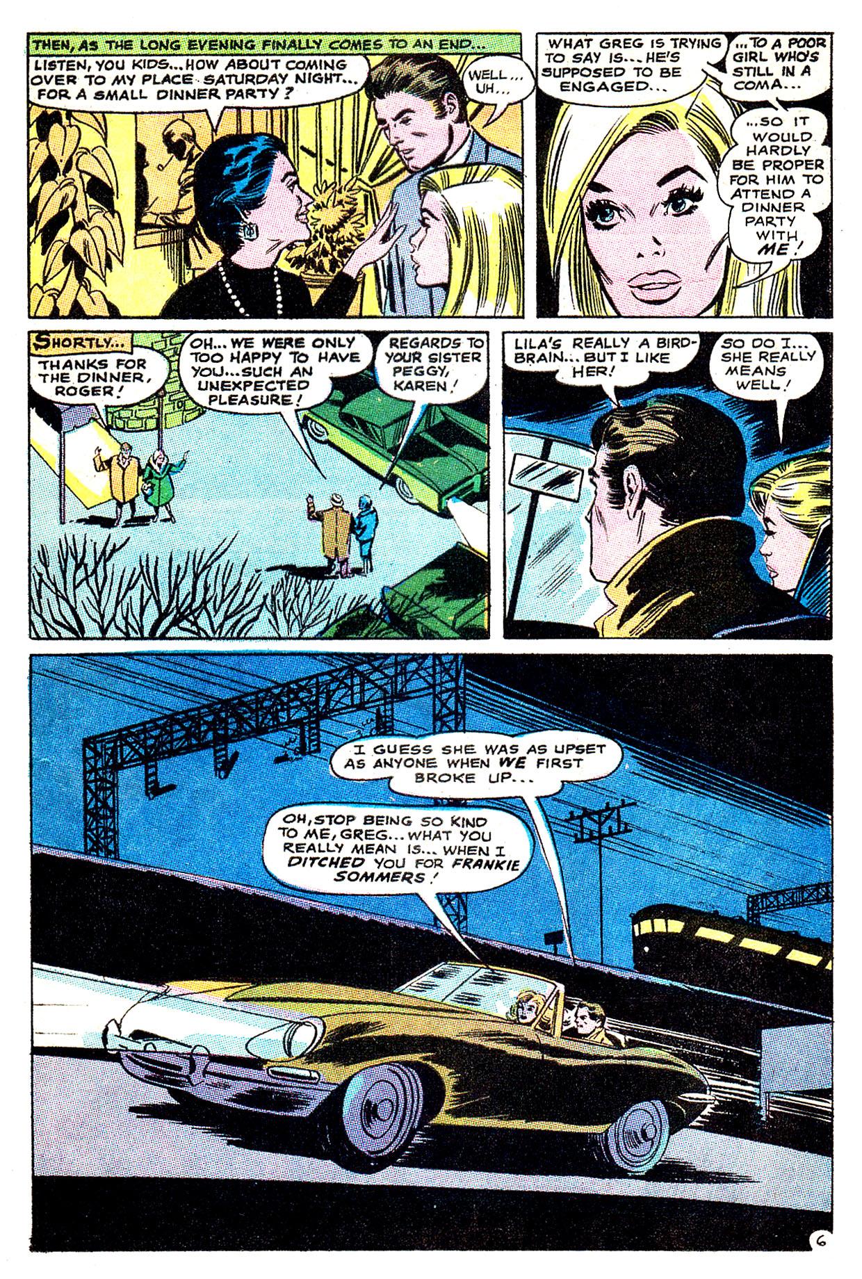 Read online Secret Hearts comic -  Issue #135 - 25