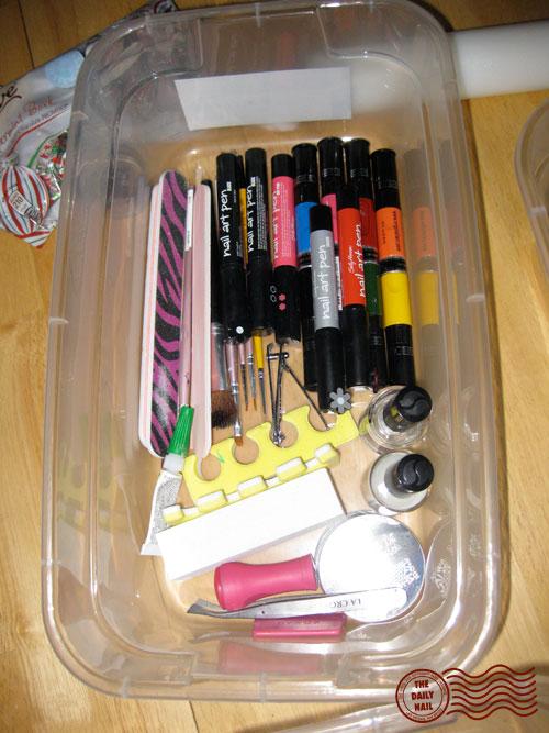 Misc #3: (Konad, Sally Hansen Nail Art Pens, Migi Nail Art Pens, misc tools)