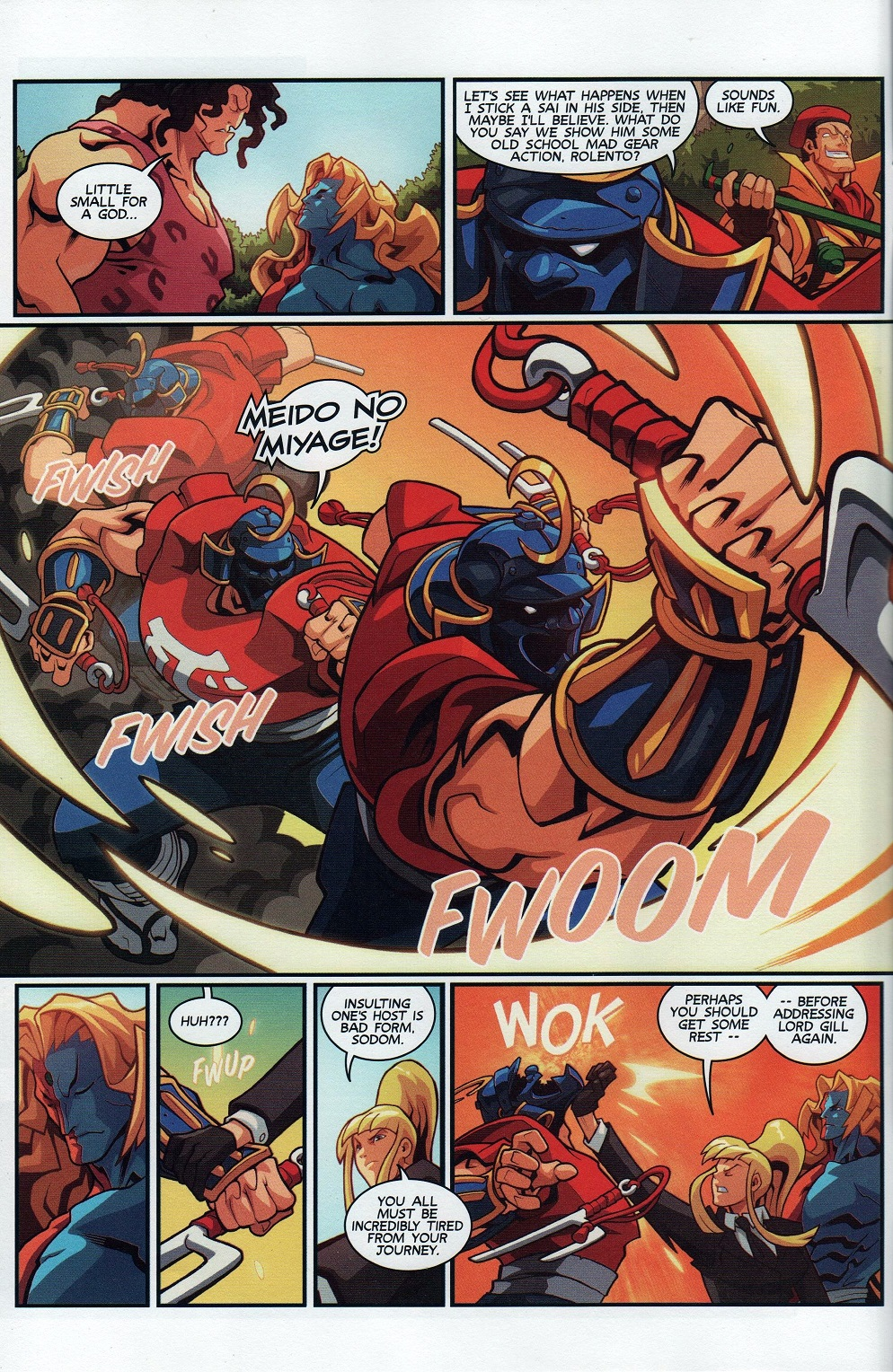 Street Fighter Unlimited Issue #7 #9 - English 6
