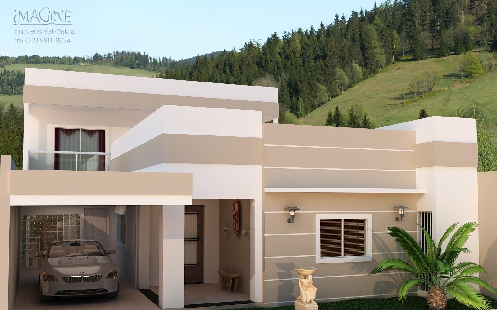 Fotos de fachadas de casas com texturas 47