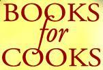 Books for Cooks bookstore logo
