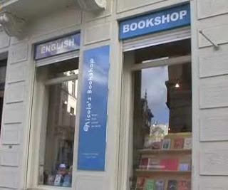 Nicola's Bookshop Brussels outside