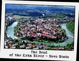 The Bend of the Krka River Nove Mesto