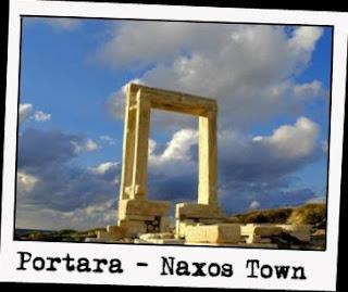 Portara Naxos Town