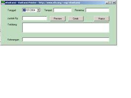 Download Ekwitansi Elektronik Kwitansi Gratisfreeware
