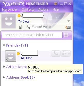 tutorial yahoo messenger